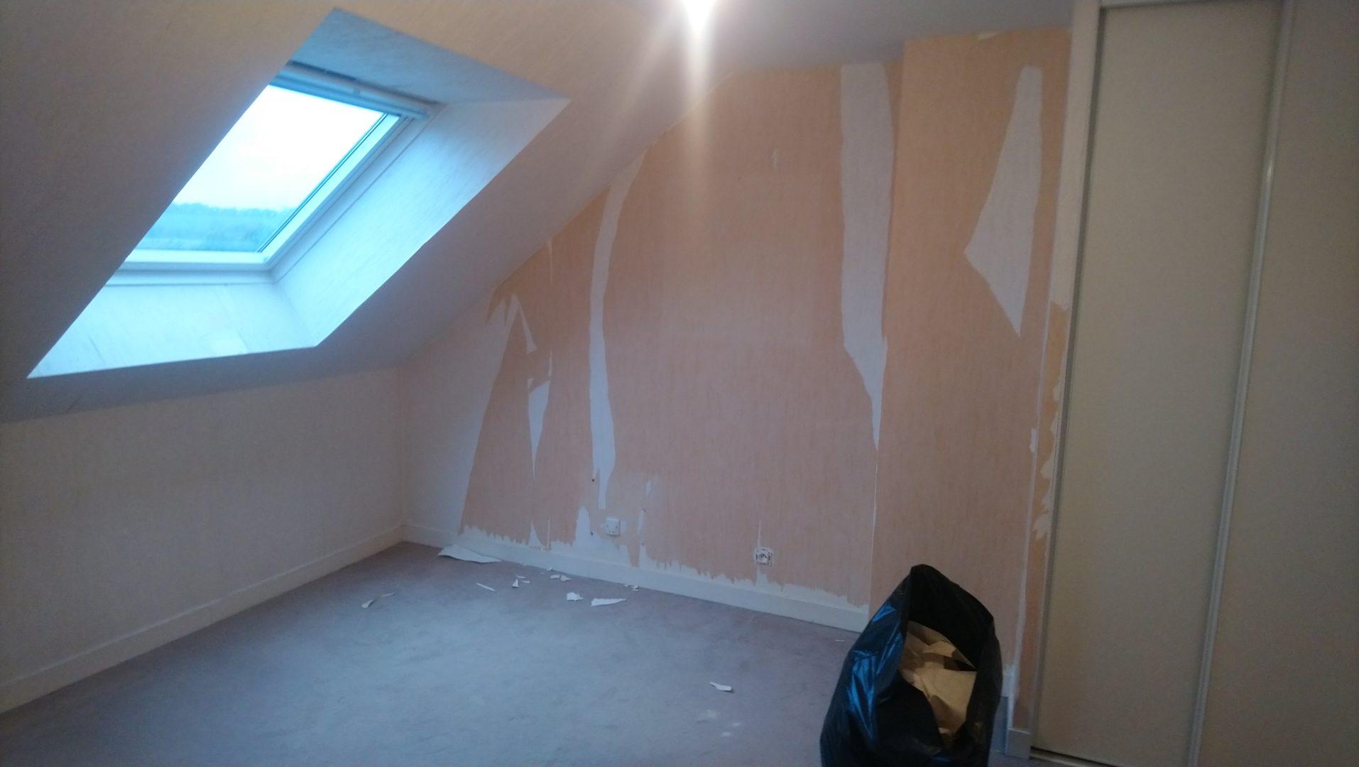 Kerfunten chambre decoration papier peint effet beto 4 - Décoration papier peint