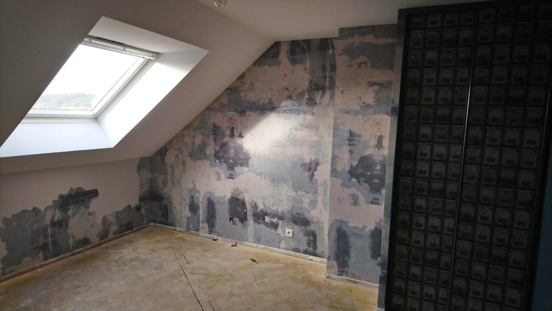 Kerfunten chambre decoration papier peint effet beto 8 - Décoration papier peint