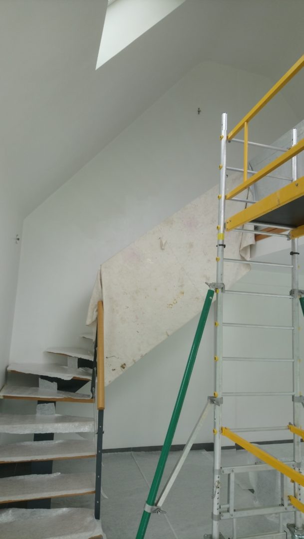 Plomelin extension placo finition peinture 12 - Finition peinture