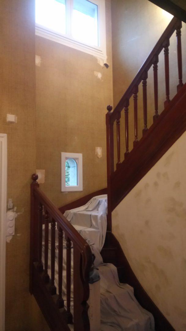 Plomelin peinture escalier texture a peindre 3 - Texture à peindre