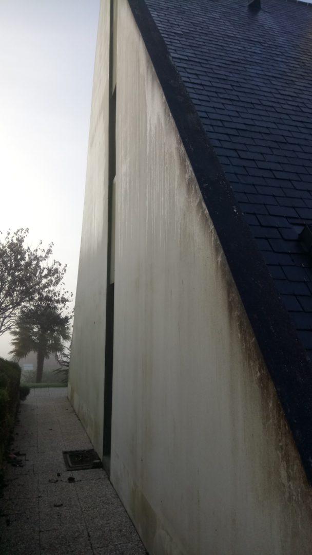 Quimper lavage toiture et ravalement maison 2 - Ravalement