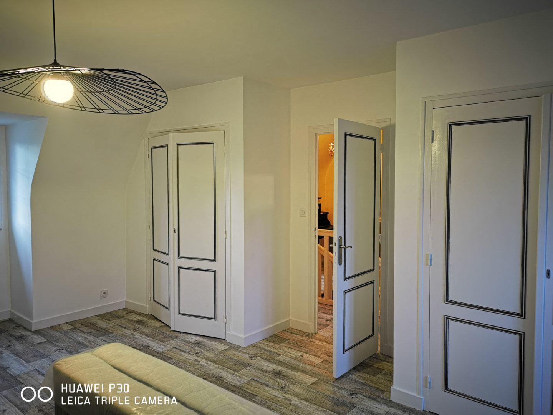 Quimper sol lynoleum lino patine corniche panoramique 4 - Staff et patine